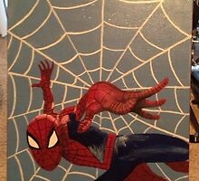 Spider-man canvas art by SingFreeDesign