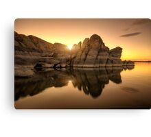 Granite Glow Canvas Print