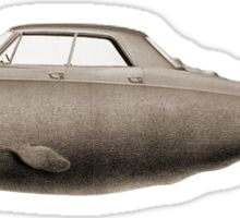 the Buick of the sea - sepia Sticker