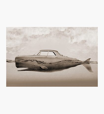 the Buick of the sea - sepia Photographic Print