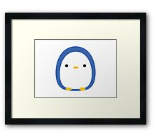 Roly Poly Penguin Framed Print