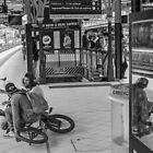 Melbourne Bikers by John Violet