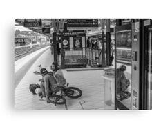 Melbourne Bikers Canvas Print
