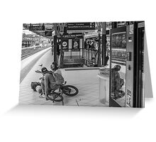 Melbourne Bikers Greeting Card