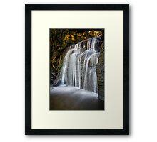 Strickland Falls, South Hobart, Tasmania #6 Framed Print