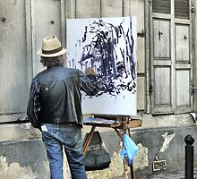 A Paintbrush in Montmartre by Larry Lingard/Davis