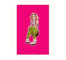 Punk!Rose Art Print