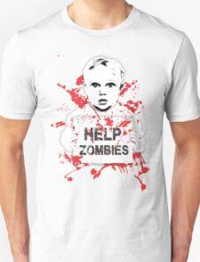HELP ZOMBIES T-Shirt