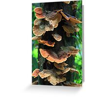 Fungi totem Greeting Card