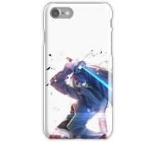 Awesome anime girl iPhone Case/Skin