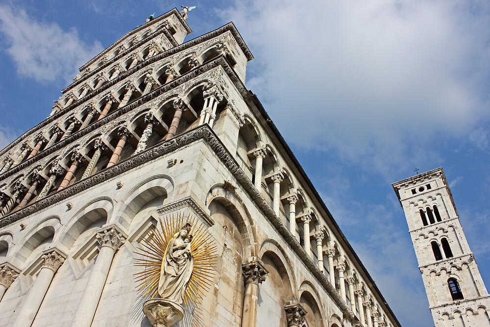 Lucca Basilica San Michele in Foro  by kirilart