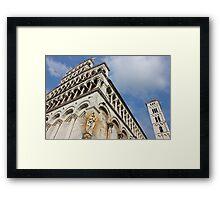 Lucca Basilica San Michele in Foro  Framed Print