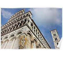 Lucca Basilica San Michele in Foro  Poster