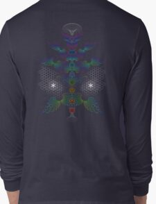 aWEARness Clothing (Without coloured aura) Long Sleeve T-Shirt