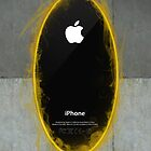 iPhone Portal Black by MitzPicz