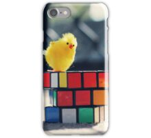 Toy Chickens - Puzzle iPhone Case/Skin