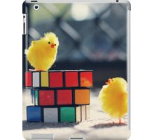 Toy Chickens - Puzzle iPad Case/Skin