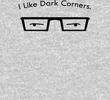 I Like Dark Corners Womens Fitted T-Shirt