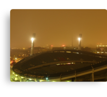 Gothenburg by night - Ullevi Canvas Print