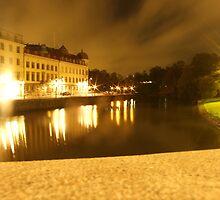 Gothenburg by night - From avenyn by Madsen1981