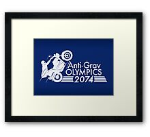 Anti-Grav Olympics Framed Print