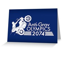 Anti-Grav Olympics Greeting Card
