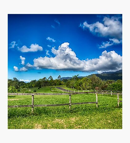 Beautiful Rural View in Queensland Photographic Print