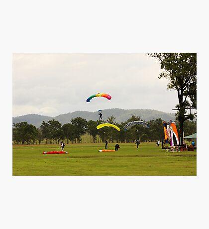 Parachuting Photographic Print