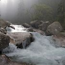 Mountain river by Marcidog
