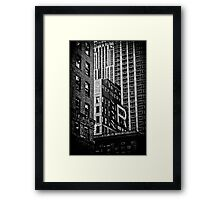 black n'white, blocks n'boxes.... Framed Print