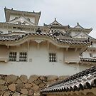 Castle at Himeji, Kansai, Japan by jojobob