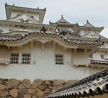 Castle at Himeji, Kansai, Japan by jojobob