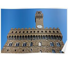 Palazzo Vecchio in Florence Poster