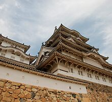 Himeji Castle, Kansai, Japan by jojobob