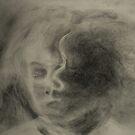Charcoal Study by Lynn Hughes