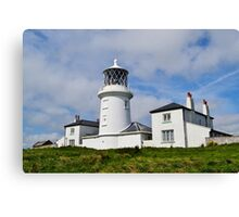 Caldey Island Lighthouse Canvas Print