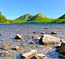 Jordan Pond in Springtime by Dan Hatch