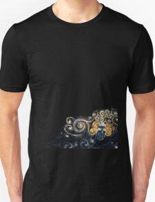 Dr.Who Tardis and Van gogh T-Shirt