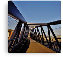 Trafalgar Bridge Canvas Print