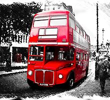 Red Bus by Paul Stevens