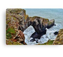Green Bridge of Wales Canvas Print