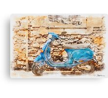 The Vespa Canvas Print