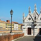 Church Santa Maria della Spina in Pisa by kirilart