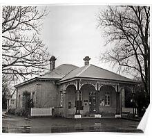 Post Office, Ross, Tasmania Poster