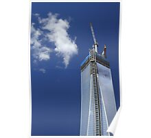 Freedom Tower construction Poster