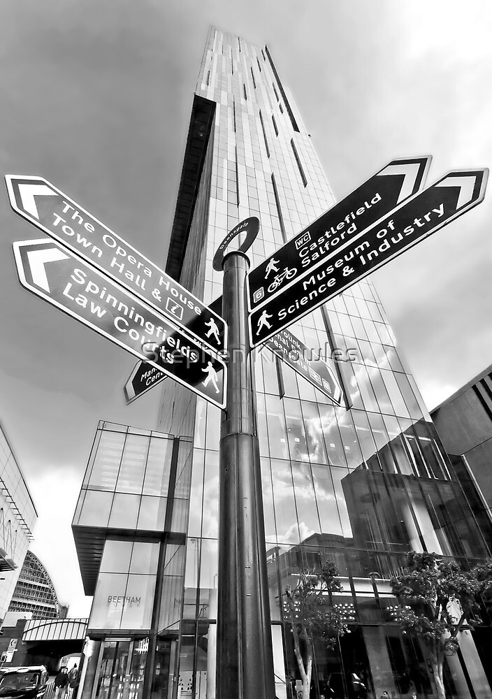 Beetham Tower, Manchester City Centre by Stephen Knowles