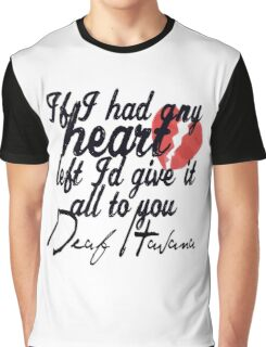 Deaf Havana | Little White Lies Shirt Graphic T-Shirt