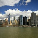 Manhattan Skyline by Kezzarama