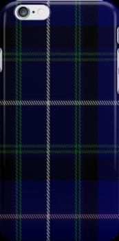 01479 Thistle of Scotland Fashion Tartan Fabric Print Iphone Case by Detnecs2013
