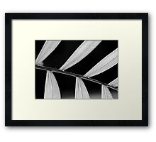 House Plant Abstract Framed Print